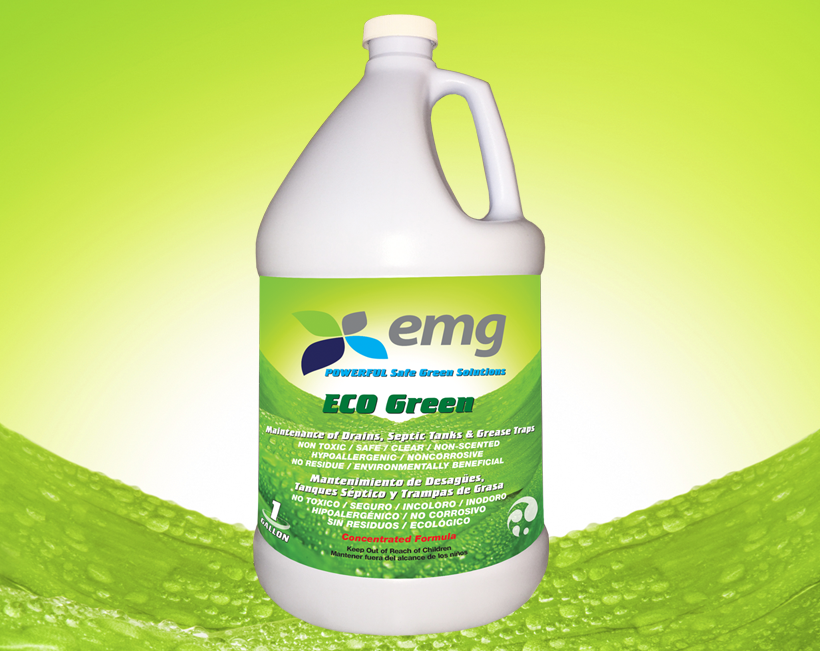 ECO Green Gallon – For Grease Trap & Septic Tank