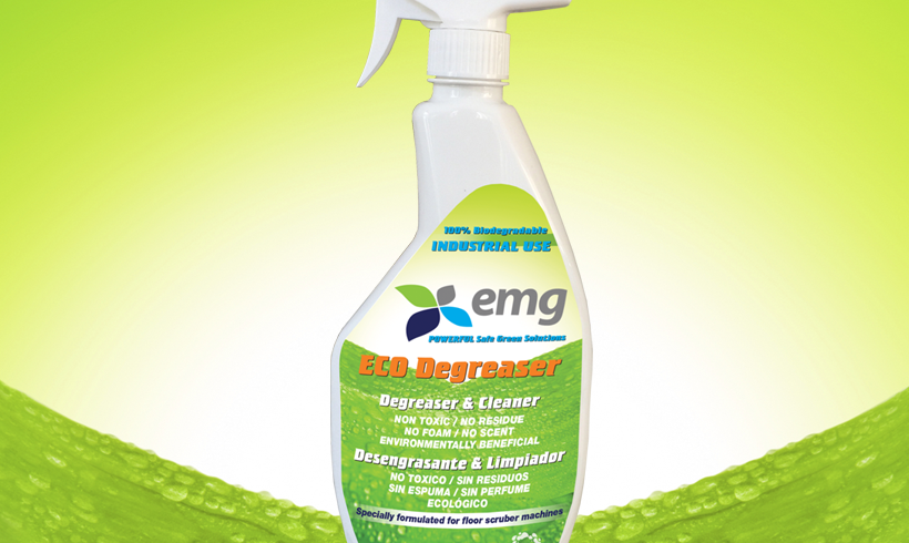 ECO Degreaser Spray for daily use on any surface